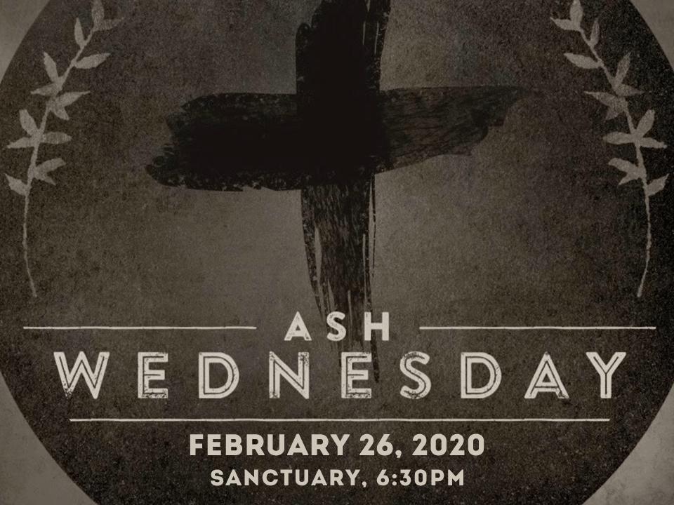 2020 Ash Wed slide