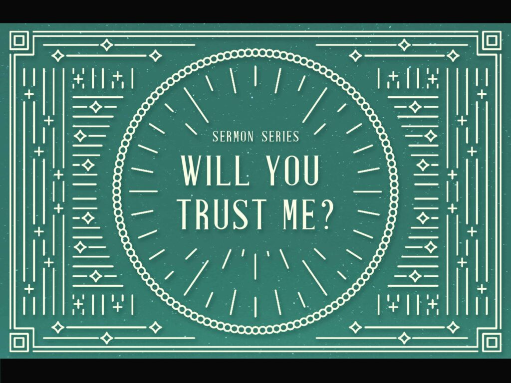 Will You Trust Me - Slide