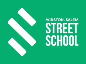 Winston-Salem Street School Logo Reverse